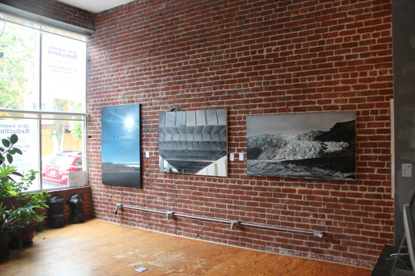The foyer has its own small collection. Photo by Joe Rivano Barros.