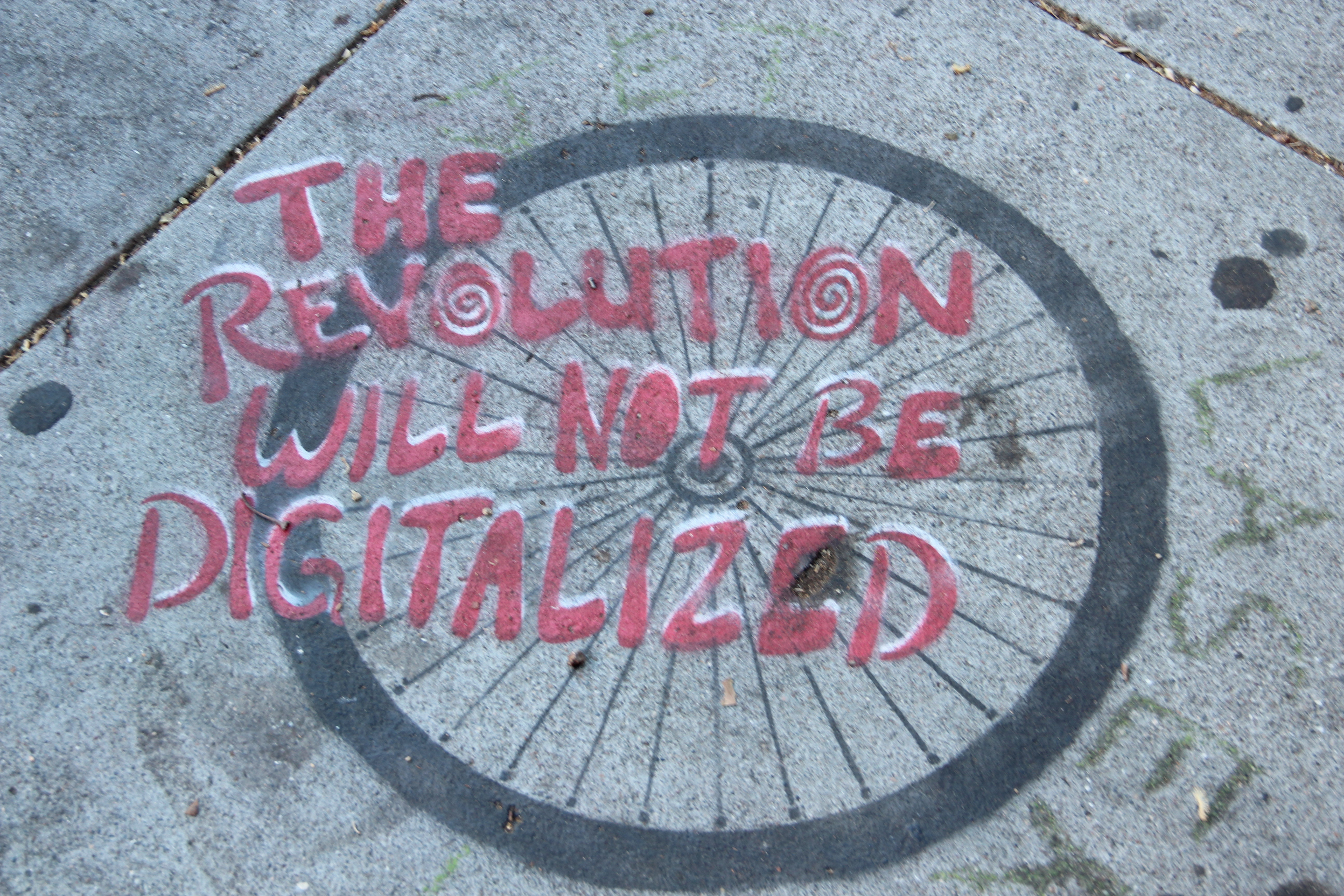 SNAP: No Digital Revolution