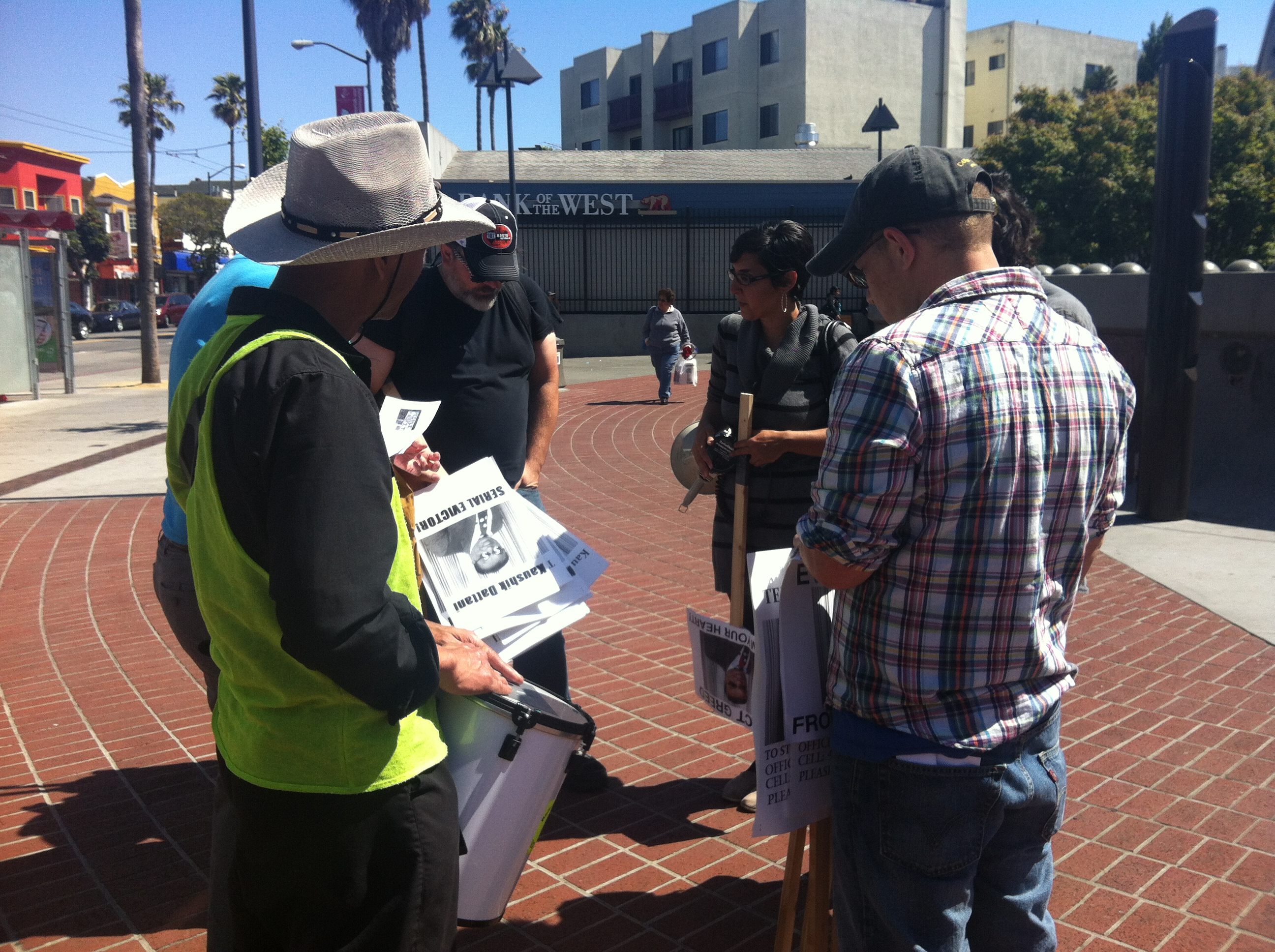 Ellis Act Protesters Take to the Streets Again