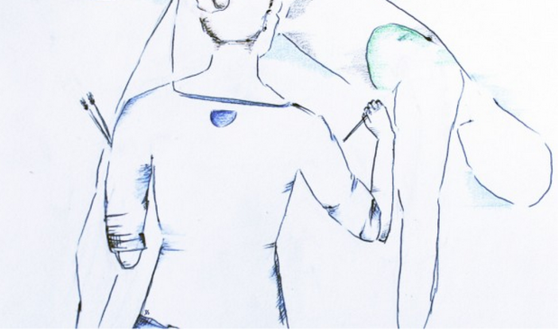 Sketch by Jenna Paul-Schultz