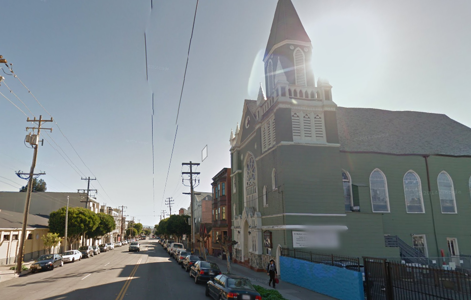 Corner of 16th and Dolores Street. Image from Google Maps.