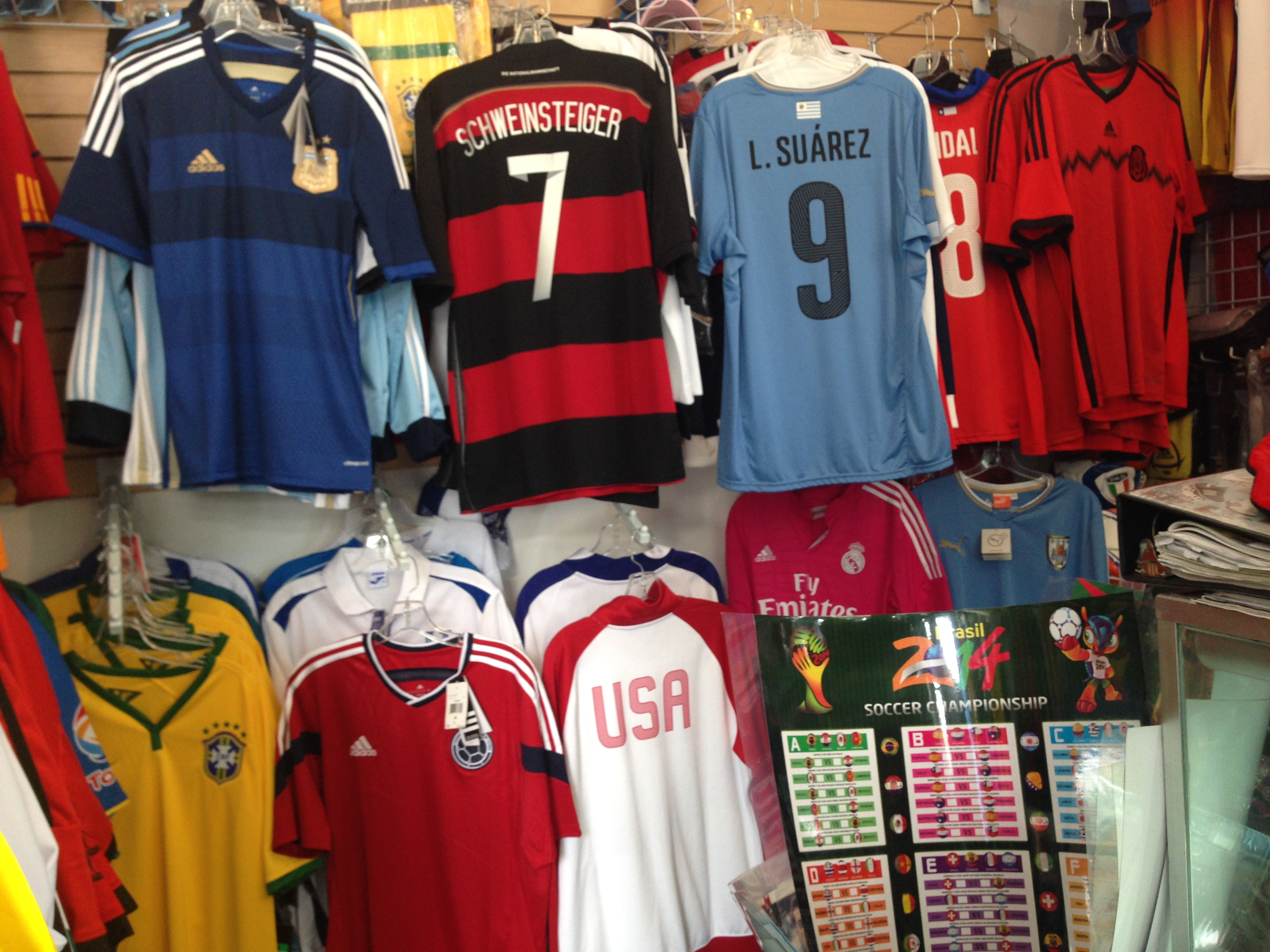 sneakers for cheap 05790 12435 Most Popular World Cup Jersey in the Mission? - Mission Local