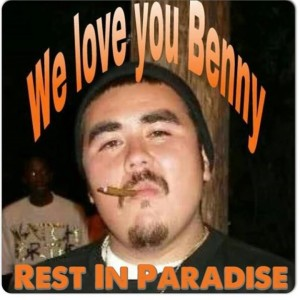 Profile picture commemorating the loss of Benny Martinez. Screengrab from Facebook.
