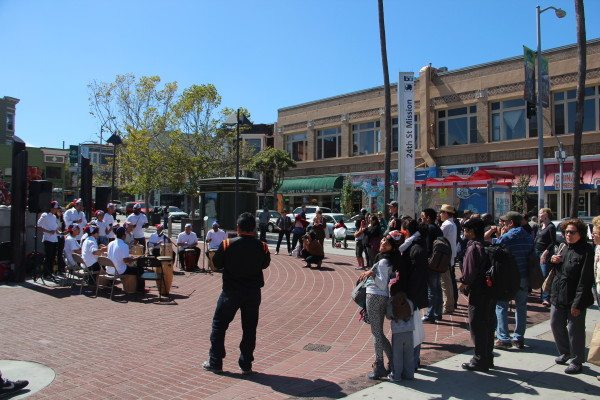 The crowd is full of photographers attempting to capture the scene. Photo by Joe Rivano Barros.