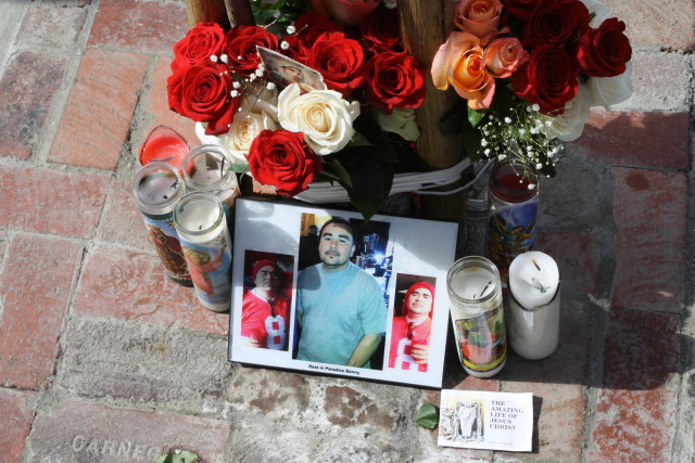 Murdered Honored at Sites of Tragedy