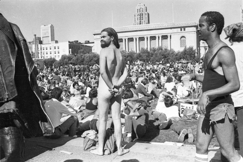 1978 San Francisco Gay Day Parade. Courtesy of the Gay, Lesbian, Bisexual, Transgender Historical Society.