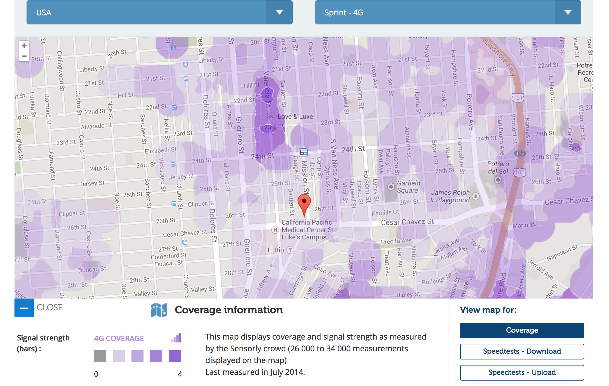 Best Phone Coverage in the Mission?