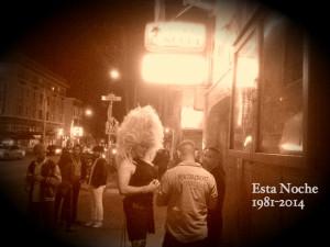 Esta Noche in sepia tone. Photo by Daniel Hirsch.