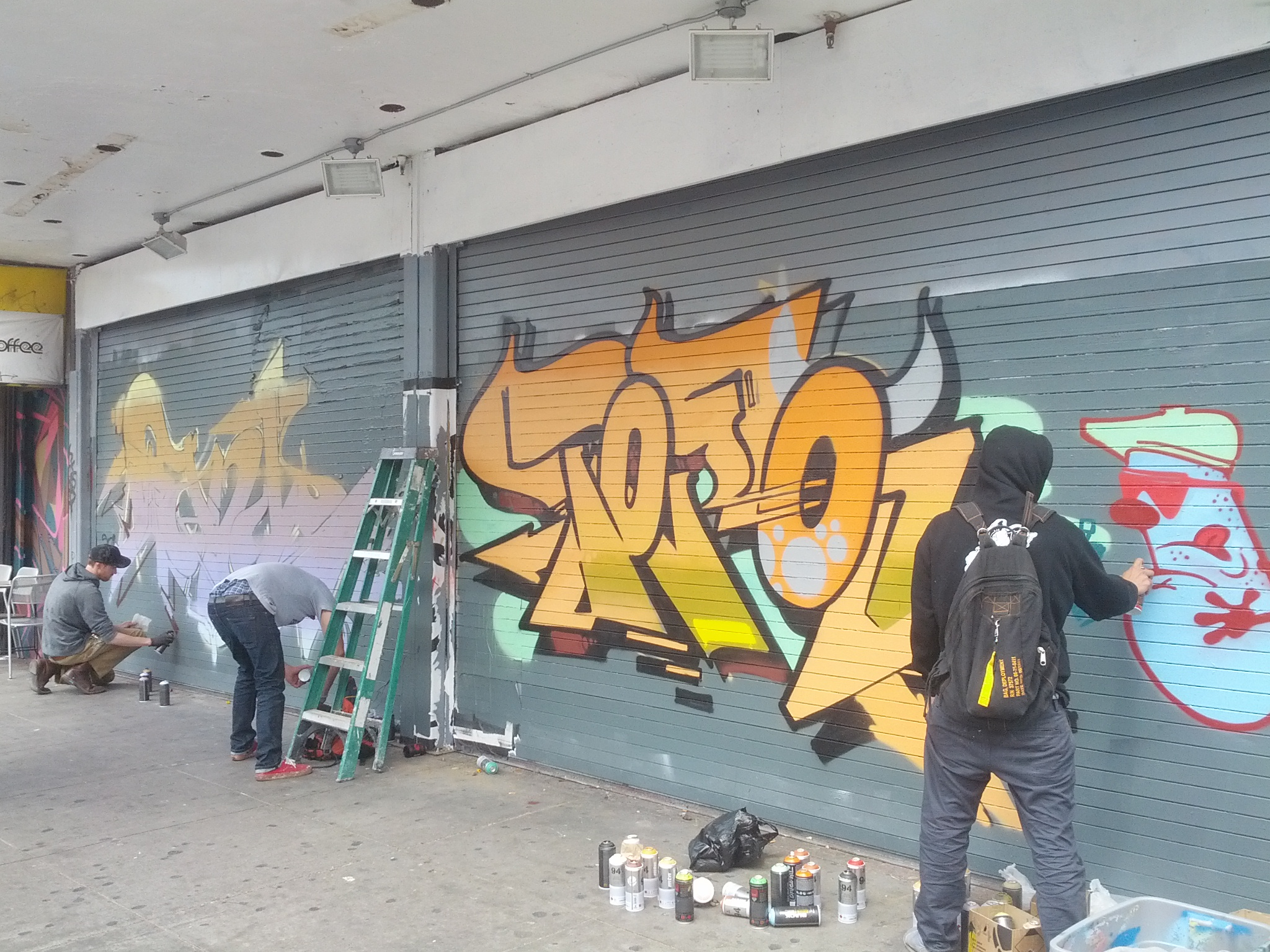 SNAP: Grand Theater Gets Painted Shutters