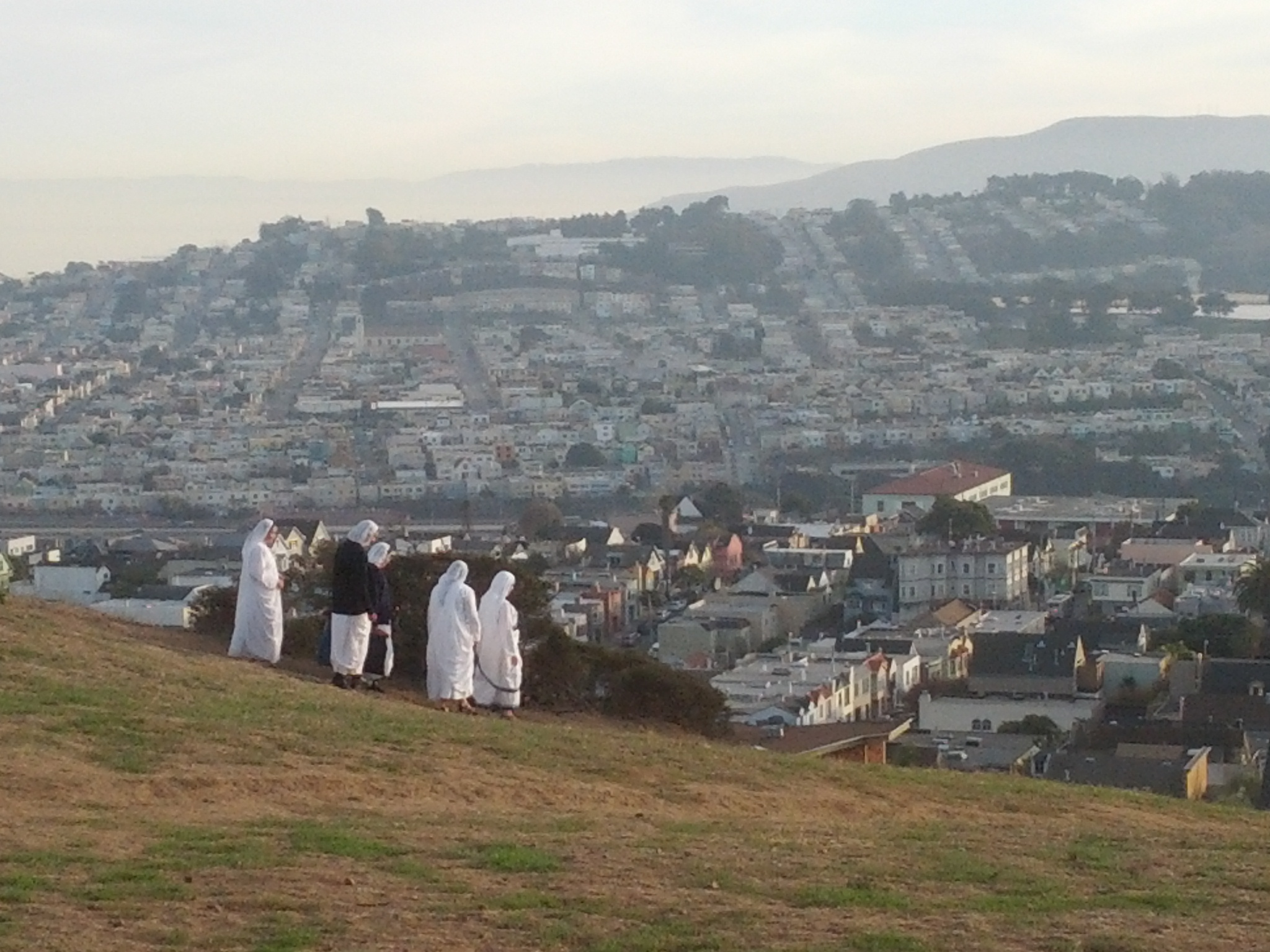 On top of Bernal Hill. Photo by Daniel Hirsch.
