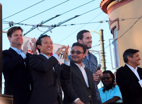 Campos and Chiu on Offense in Tight Assembly Race
