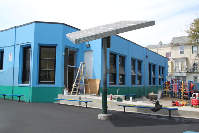 Cesar Chavez Elementary Partly Solar Powered Mission Local