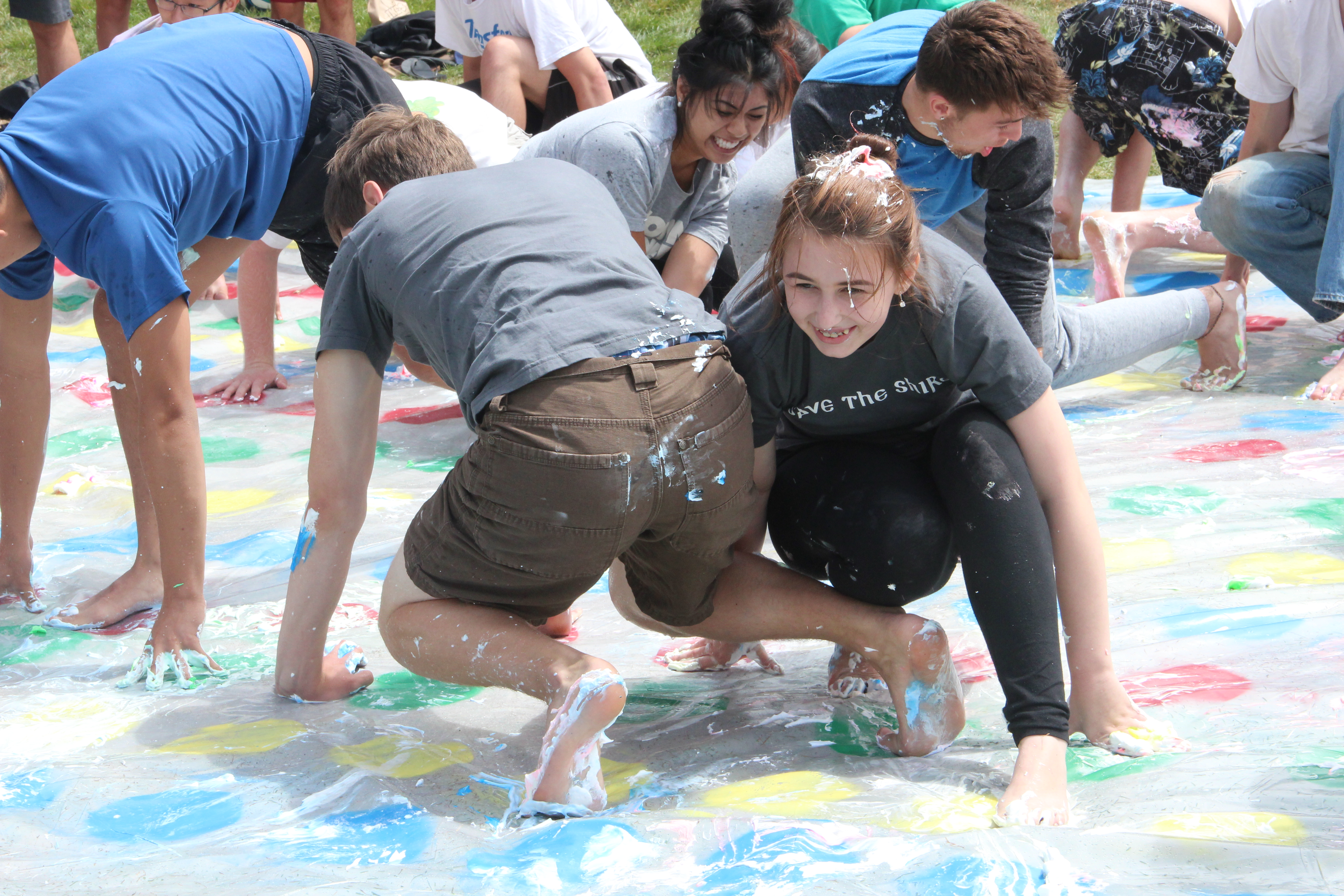 A Giant Game of Twister Took Over Dolores Park