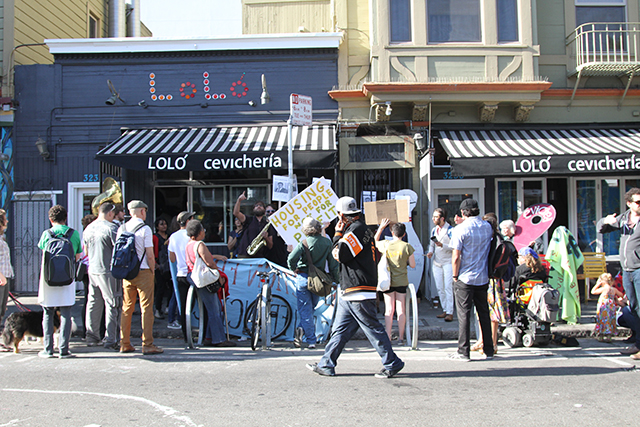 Allies Protest as Tenant Hopes for Reprieve in Eviction (update)