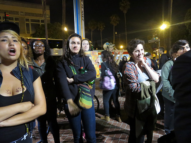Ferguson Allies Rally at 24th Street BART Plaza