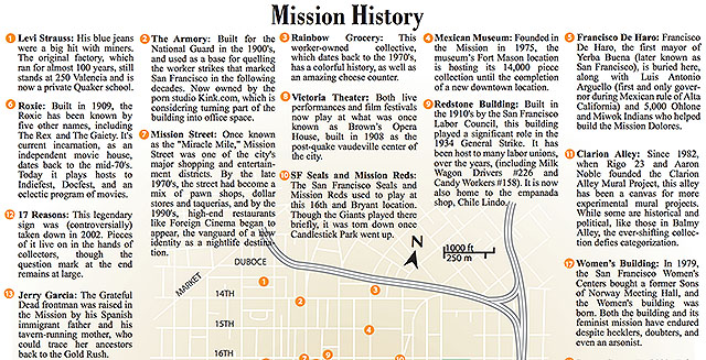 Mission History Map