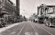 Mission Street Reconstruction Looking North from 22nd Street | July 27, 1936 | U16043 | John Henry Mentz, Market Street Railway Photographer SFMTA