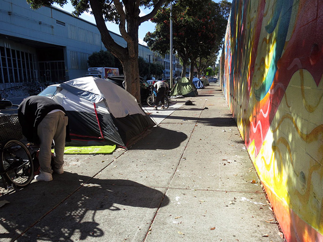 Homeless Encampments Here to Stay