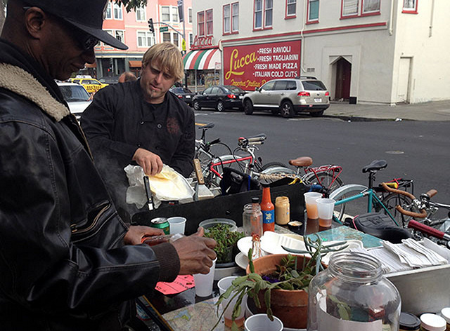 Portland's Food Carts Thrive, While SF's Languish