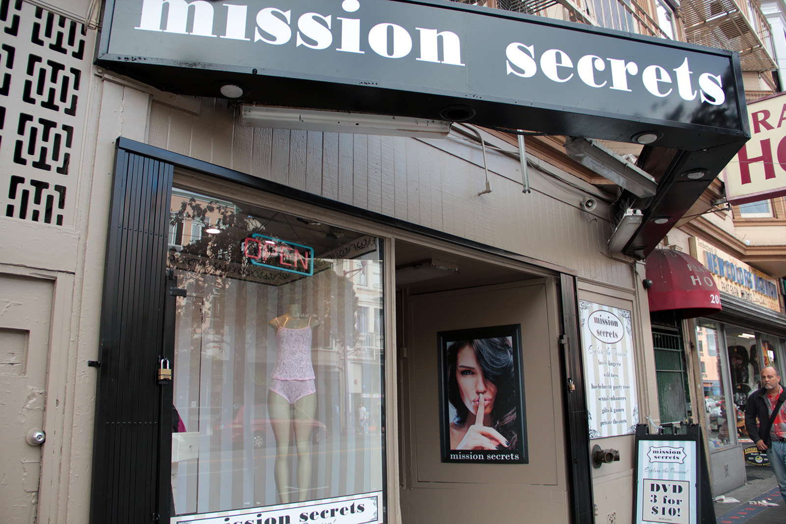 16th and Mission Porn Shop Tries to Go Upscale