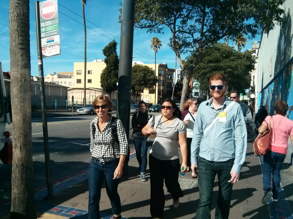 Touring the Mission With City Planners