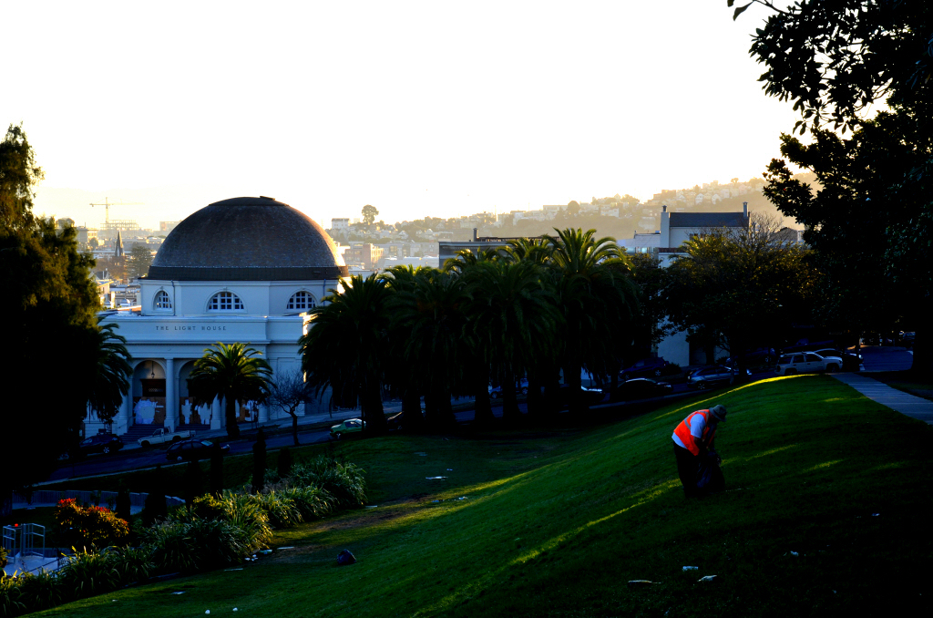Good Morning Mission, Dolores Park at Dawn!
