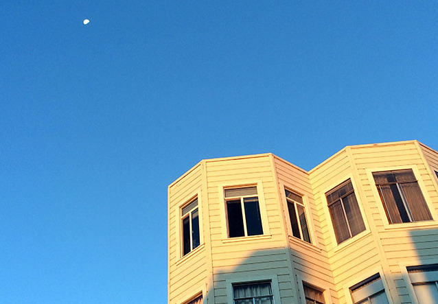 Good Morning Moon. Photo by Mark Rabine.
