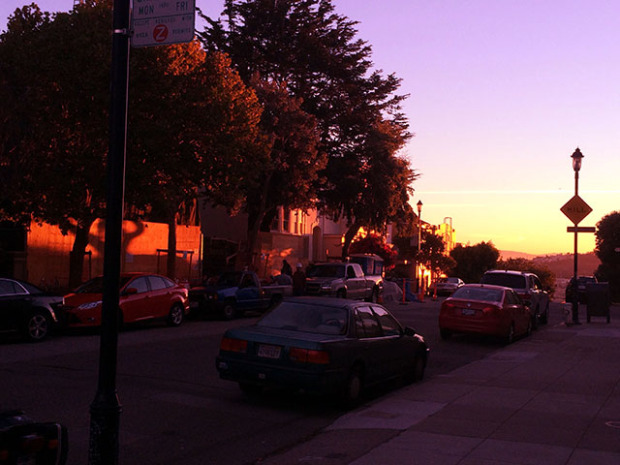 Sunrise on Mt. Zuckerberg. Photo by Mark Rabine.