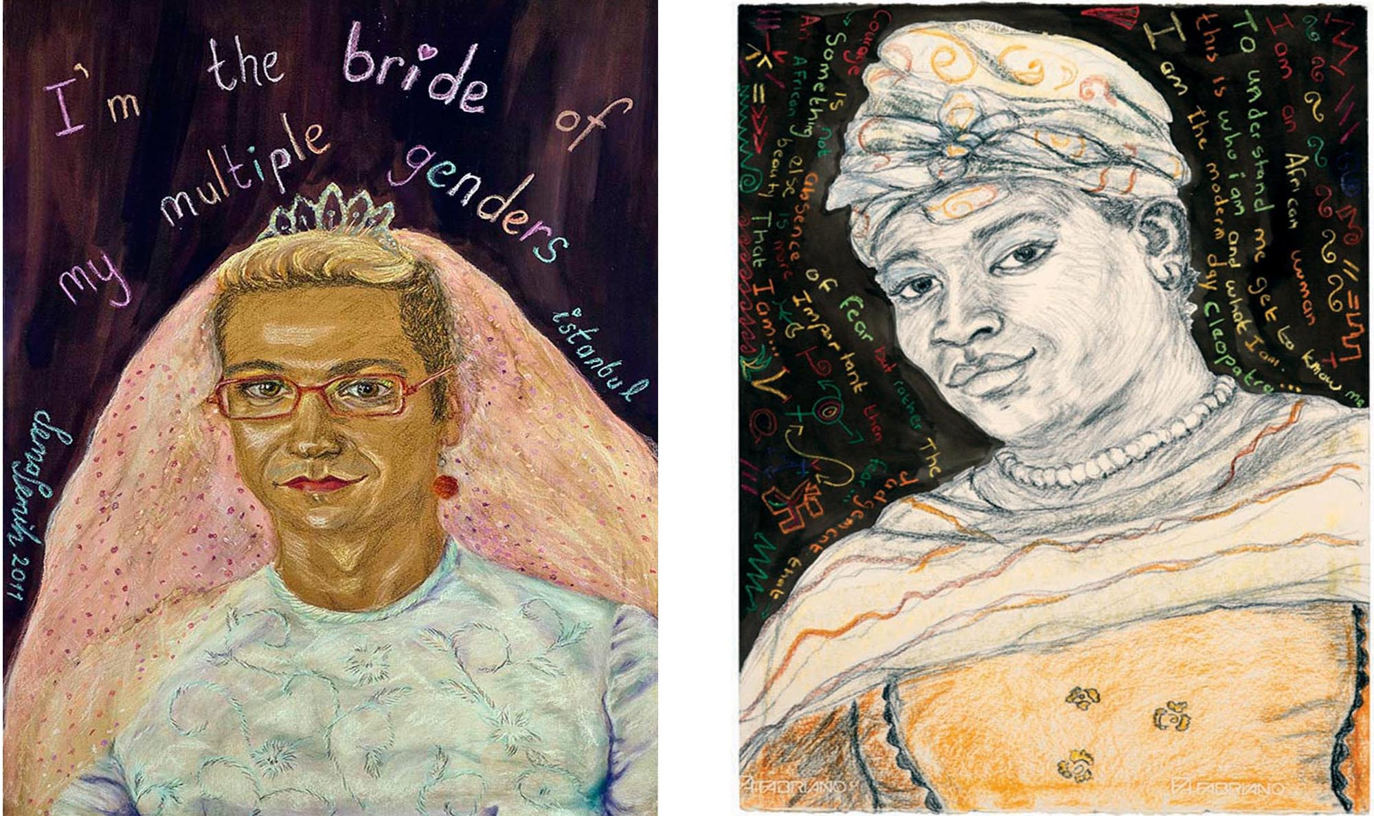 Portraitist/Activist Talks About Her Transgender Art