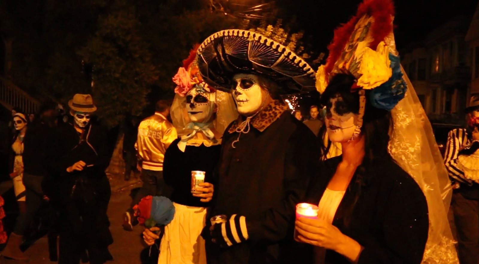 Thousands Celebrate Mission's Day of the Dead