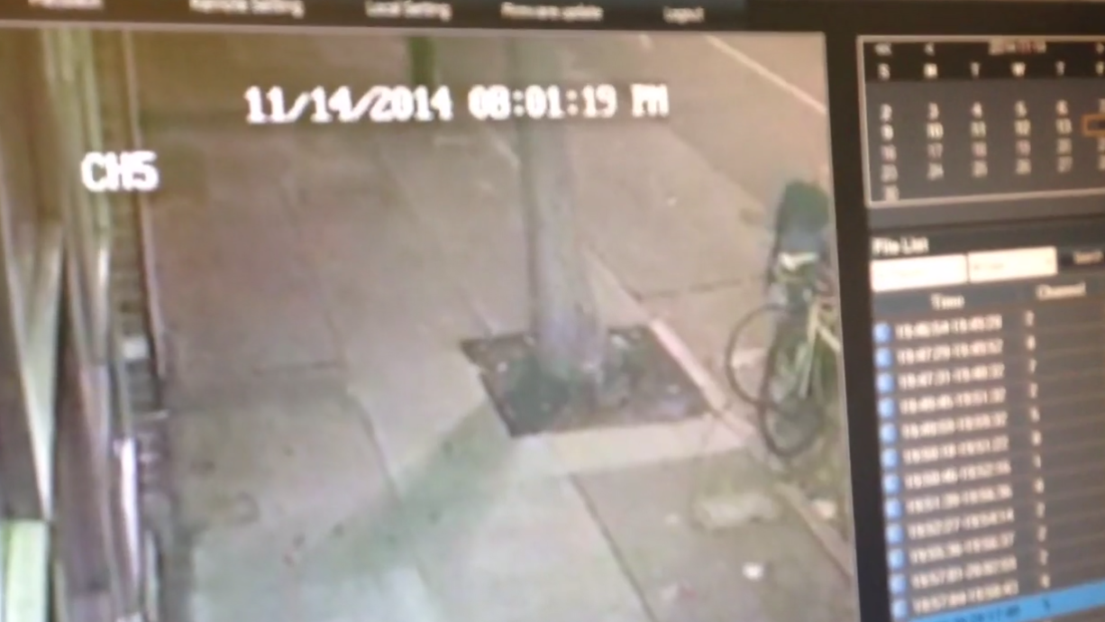 In Seconds, Her Bike Was Gone