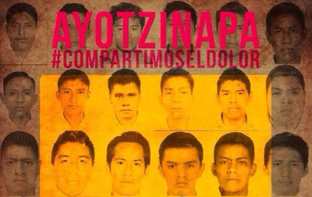 Protest This Saturday for Disappeared Students in Ayotzinapa, Mexico