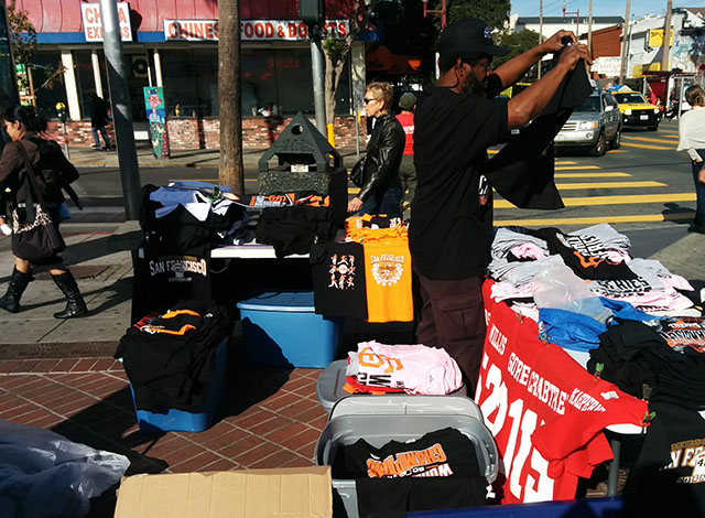 Giants Still On Locals' Minds and Shirts