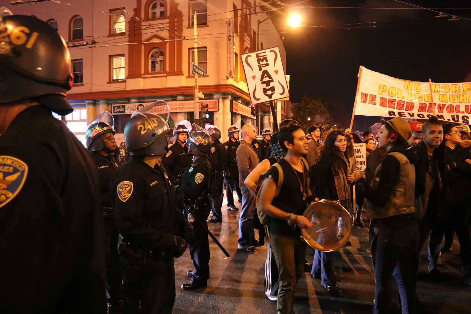 """Millions March San Francisco"" Ends Peacefully in the Mission"