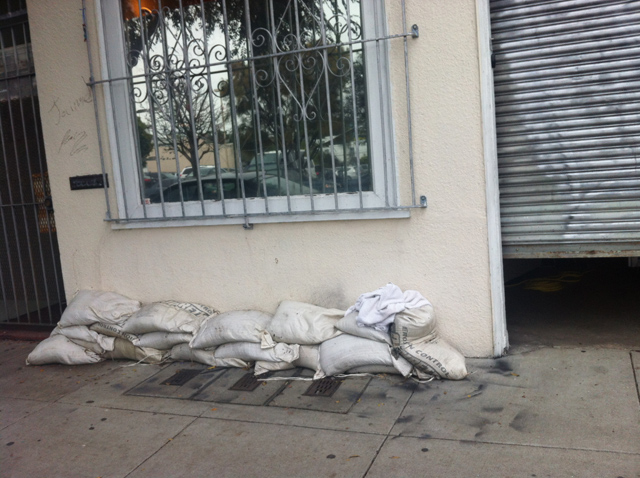Fee Relief for Businesses Trying to Keep Dry