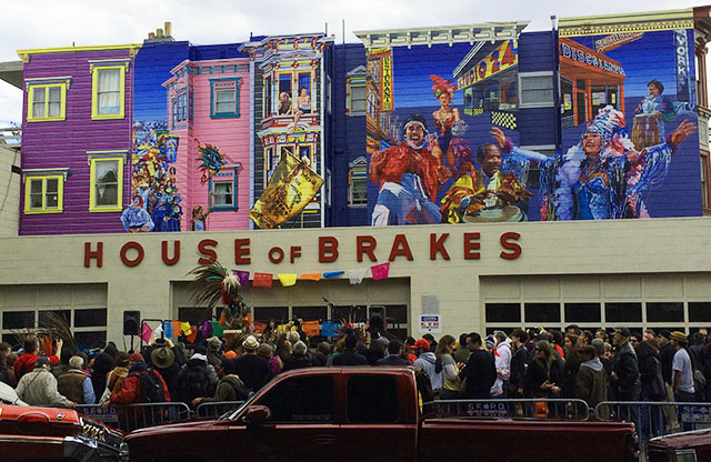 Carnaval Mural Unveiled