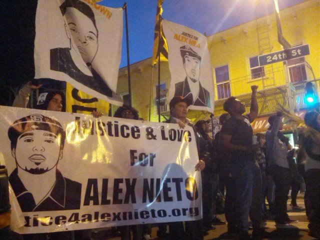 Hundreds March for Nieto and Others Killed by Police
