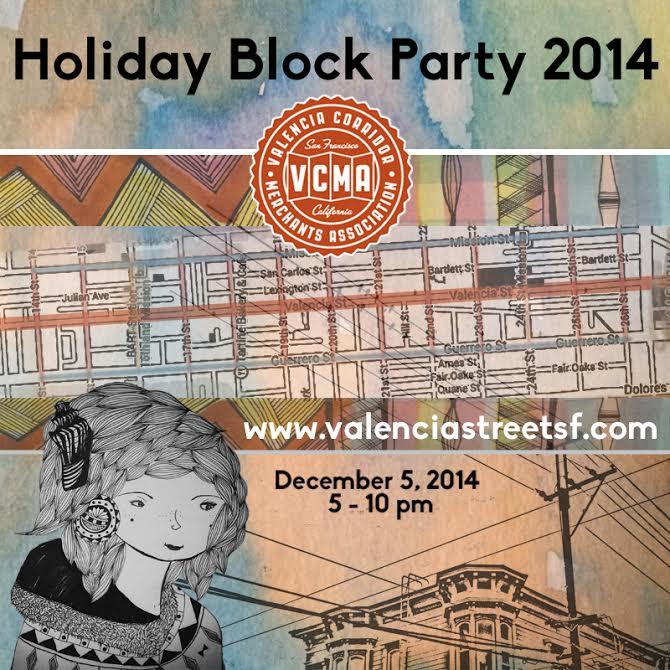 Holiday Block Party Tonight!