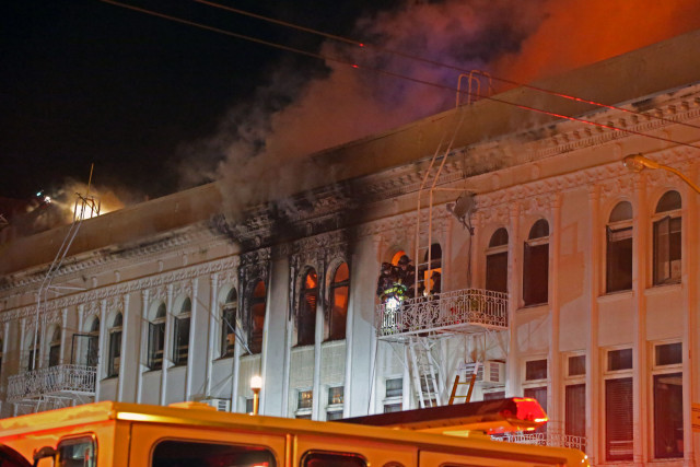 Electrical Short Likely Cause of Mission and 22nd Fire