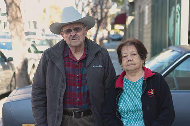 Florentino and Imelda together for over 50 years. Photo by Daniel Mondragón