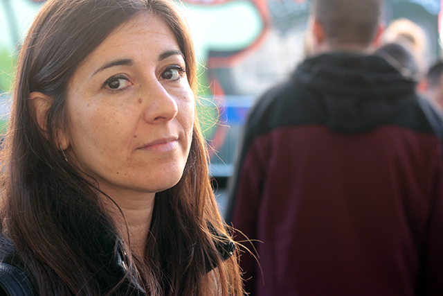 Claudia Zapata, an immigration lawyer, had an office on the second floor. Photo by Daniel Mondragón