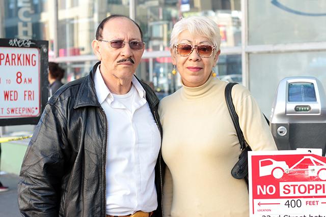 Humberto Lopez and Eugenia Aldama. Photo by Daniel Mondragón