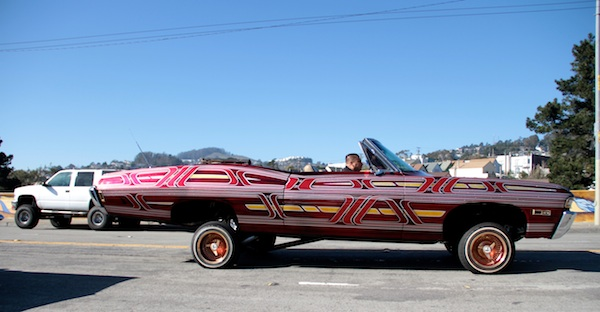 Scenes from Sunday's Lowrider Council Ride