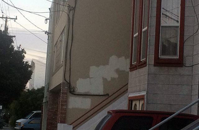 Move along everyone, no conspicuous graffiti cover up here. Photo by Eugeniya Kirovskaya