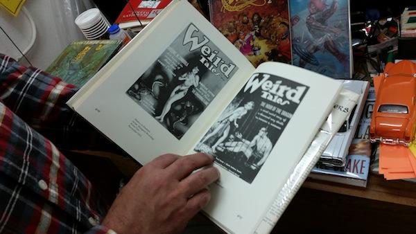 Weird tales at Valhalla Books. Photo by Daniel Hirsch.