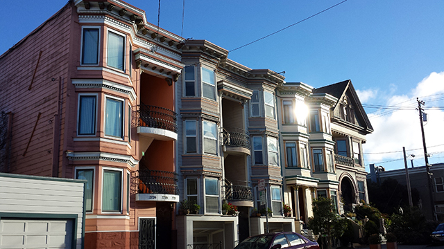I loved the colors, the Bay windows and the various versions of classic San Francisco architecture. Photo by Jeremy Gold