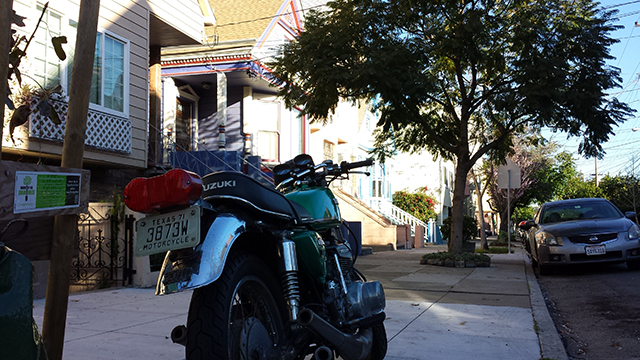 Even in San Francisco, don't mess with Texans. Photo by Jeremy Gold