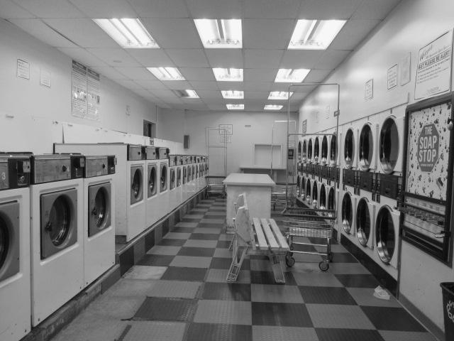 Empty Laundromat Photo by Kathleen Narruhn