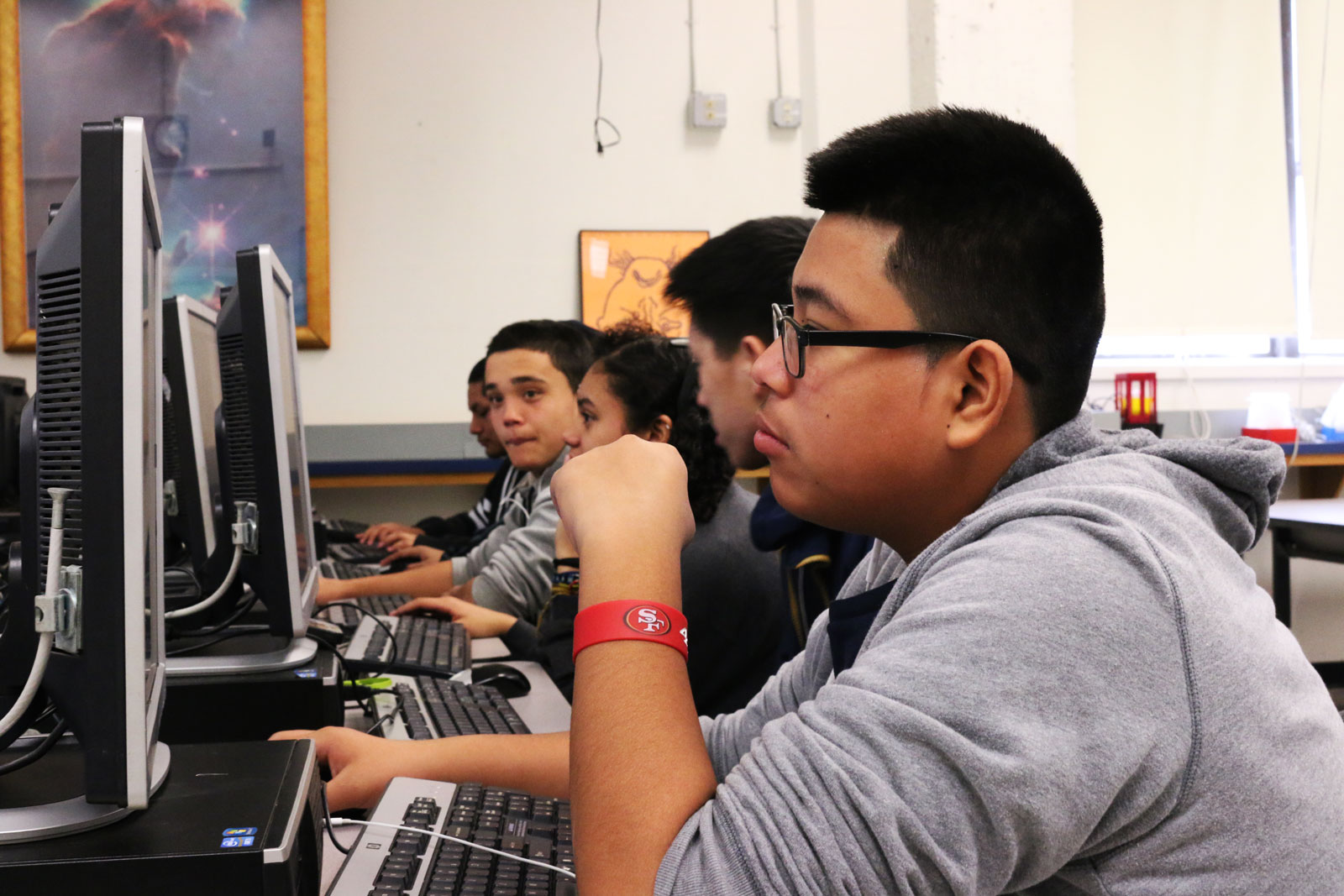 Techies Teach Students with Mixed Skills