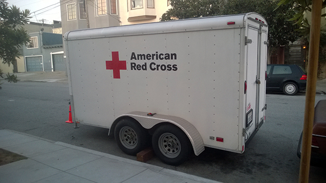This trailer saves lives.  Photo by Christopher Tai